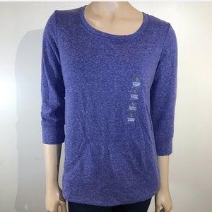 Style & Co Sport Size Small Sweatshirt Purple